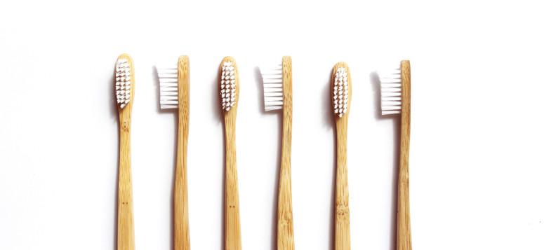 Houten tandenborstel ideaal voor gezond tandenpoetsen