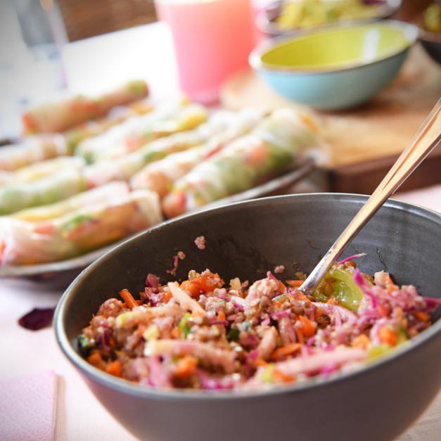 een lekker vegan recept van Chantal Voets