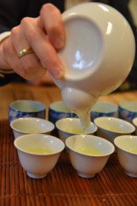 Groene thee tot de laatste druppel