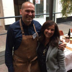 Bedankt Christophe van Maes and More om ons in te wijden bij de Food Inspiration Days