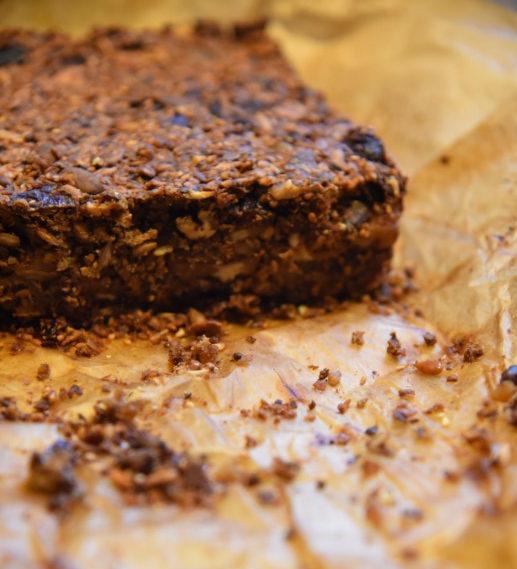 Recept pompoenbrood met met noten, zaden en pompoen