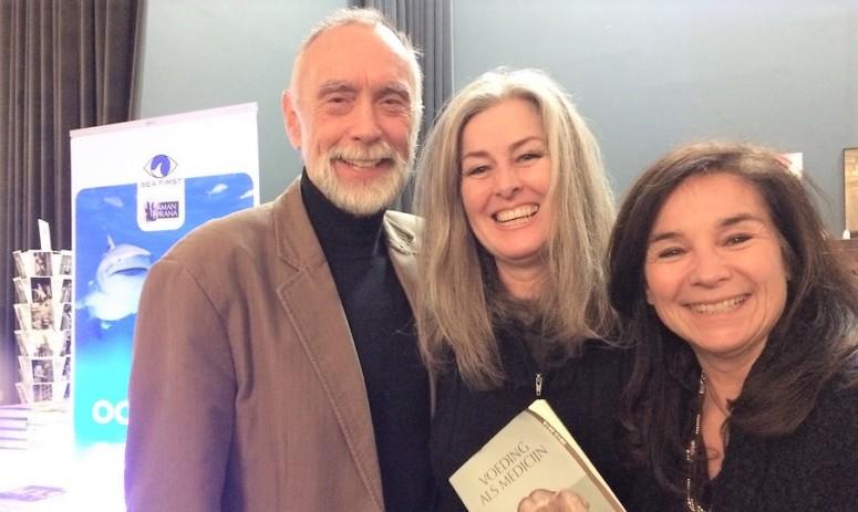 Polly Higgins is advocaat van de Aarde, Dos Winkel van Sea First en Chantal Voets van Amanprana