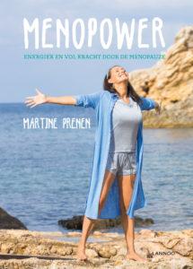 Boek MENOPOWER van Martine Prenen, over de menopauze