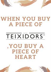 Teixidors is duurzaam textiel, ecologisch textiel