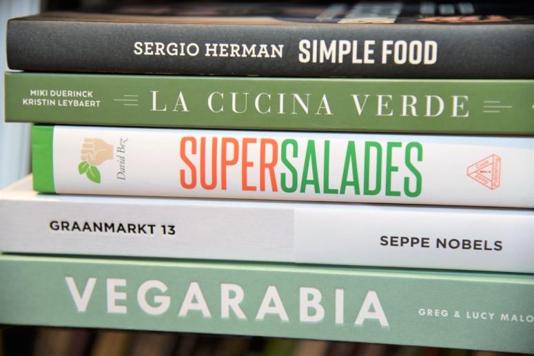 Kookboeken met recepten van Chantal Voets zoals Graanmarkt 13 van Seppe Nobels