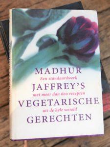 Madhur boek Vegetarische gerechten en recepten