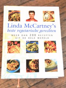 Vegetarische kookboek met vegetarische recepten van Linda McCartney