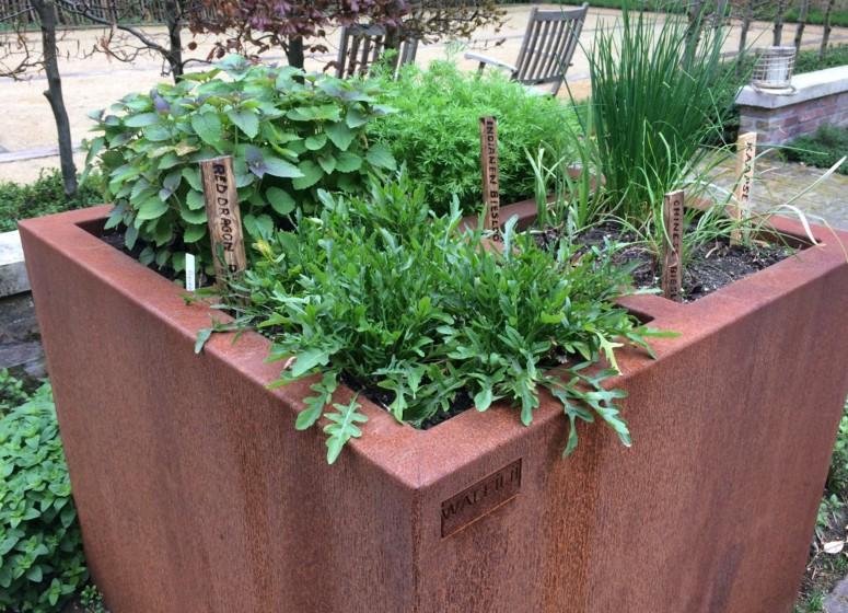 Ecologisch tuinieren met een walfilii plantenbak