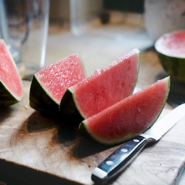 Watermeloen voor een salade recept met munt en feta
