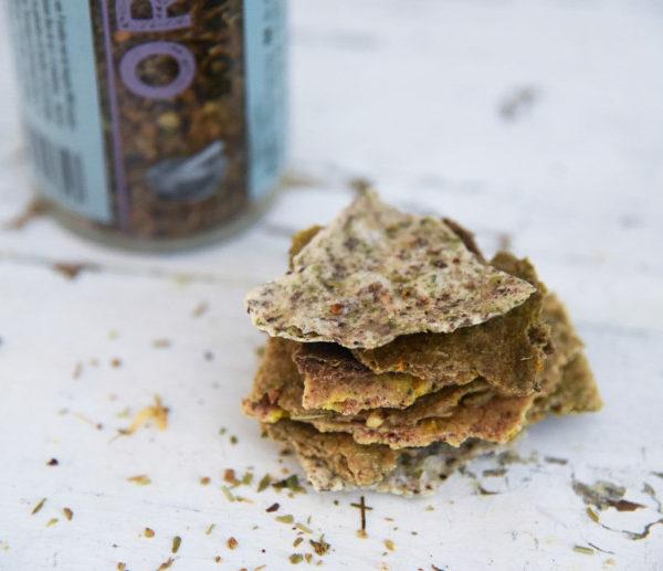 crackers aux herbes Botanico d'Amanprana