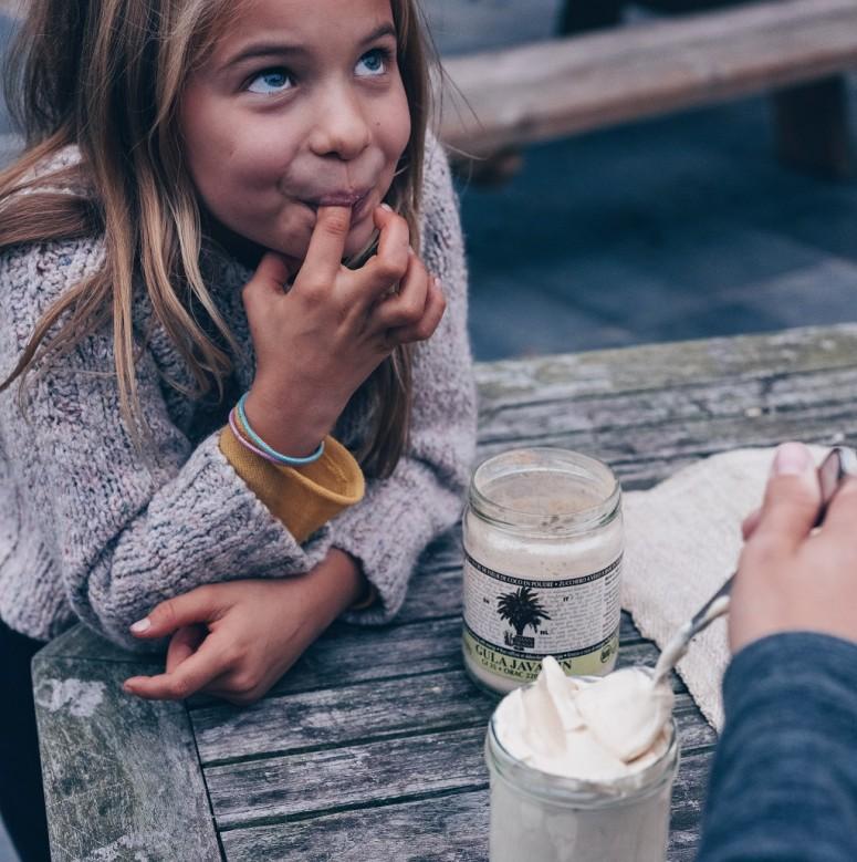 Wolvenkinderen Slagroom recept met Gula Java kokosbloesemsuiker.