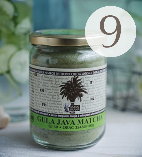 Gula Java Matcha von Amanprana mit Kotobuki Matcha.