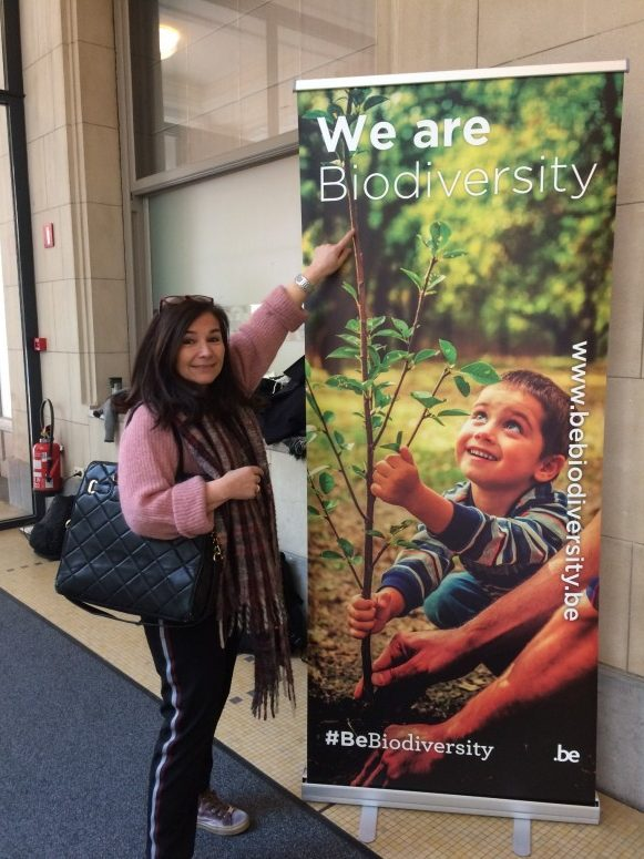 We are all bio-diversity ##BeBiodiversiteit Chantal Voets of Amanprana as a pioneer.