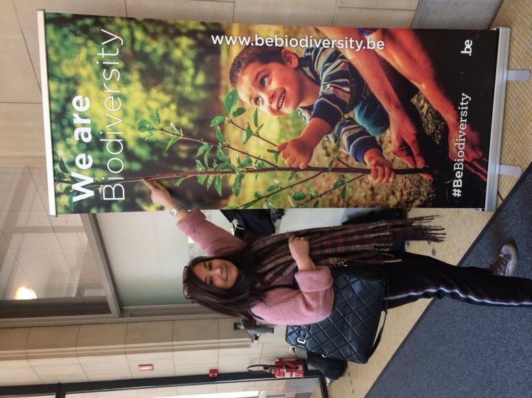 Wir alle sind Biodiversität #Bebiodiversity Chantal Voets von Amanprana als Pionierin.