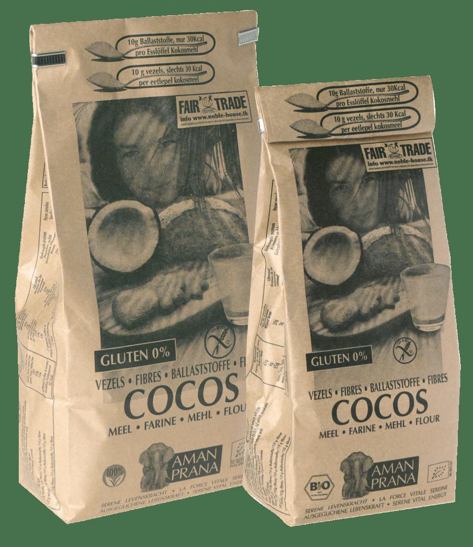Amanprana kokosolie is extra vierge biologische kokosolie