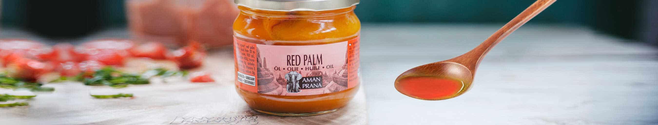 Rode Palmolie van Amanprana: duurzaam en biologisch